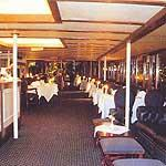 Restaurant on the Yacht